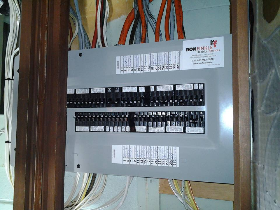 Service Upgrades - Ron Finkle Electrical Services